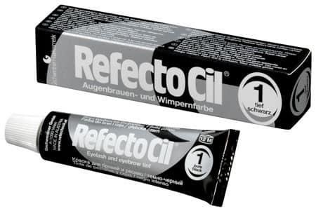RefectoCil №1 Черная - краска для бровей и ресниц 15 мл
