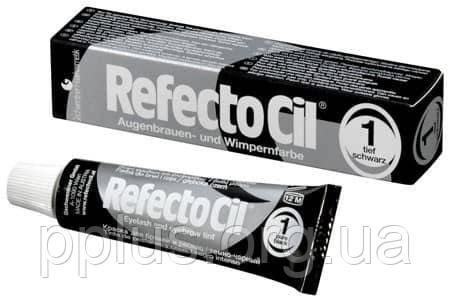 RefectoCil №1 Черная - краска для бровей и ресниц 15 мл, фото 2