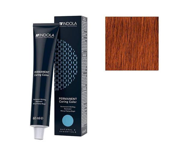 Крем-краска 7.44 Indola PCC Средне-русый интенсивный медный 60 мл, фото 2