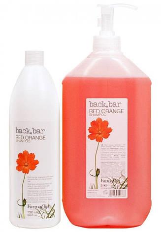 Шампунь красный апельсин для окрашенных волос FarmaVita Back Bar 5000 мл, фото 2