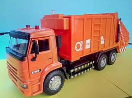 Оранжевый мусоровоз Автопарк, интерактивная игрушка