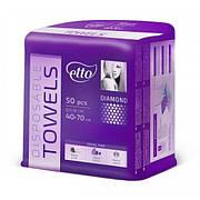 Одноразовые полотенца жемчужные Etto 40х70 (50 шт)