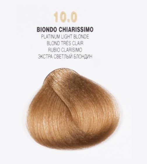 Краска для волос 10.0 Brelil Colorianne Classic очень светлый блондин 100 мл