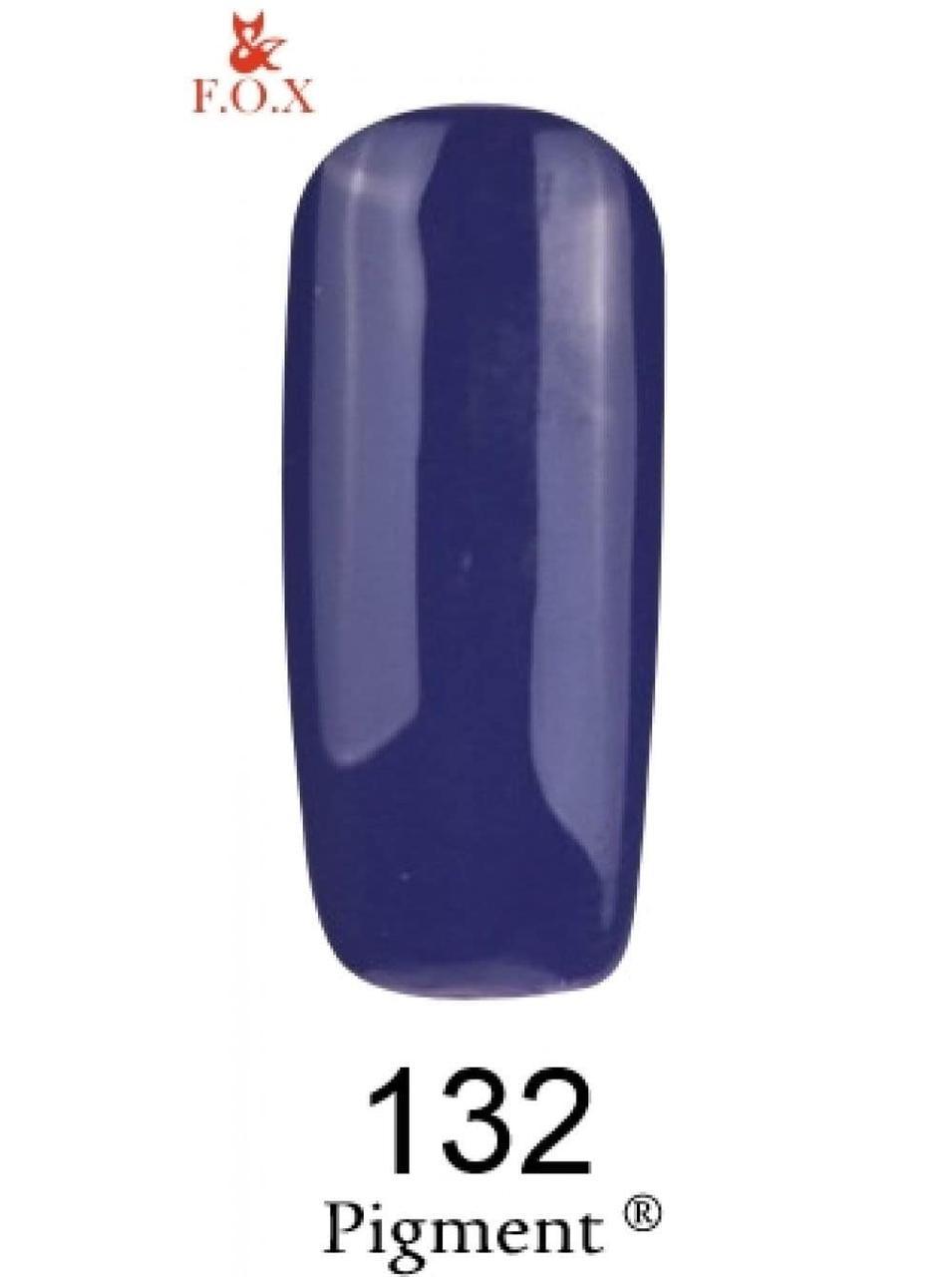 132 F.O.X gel-polish gold Pigment 6 мл