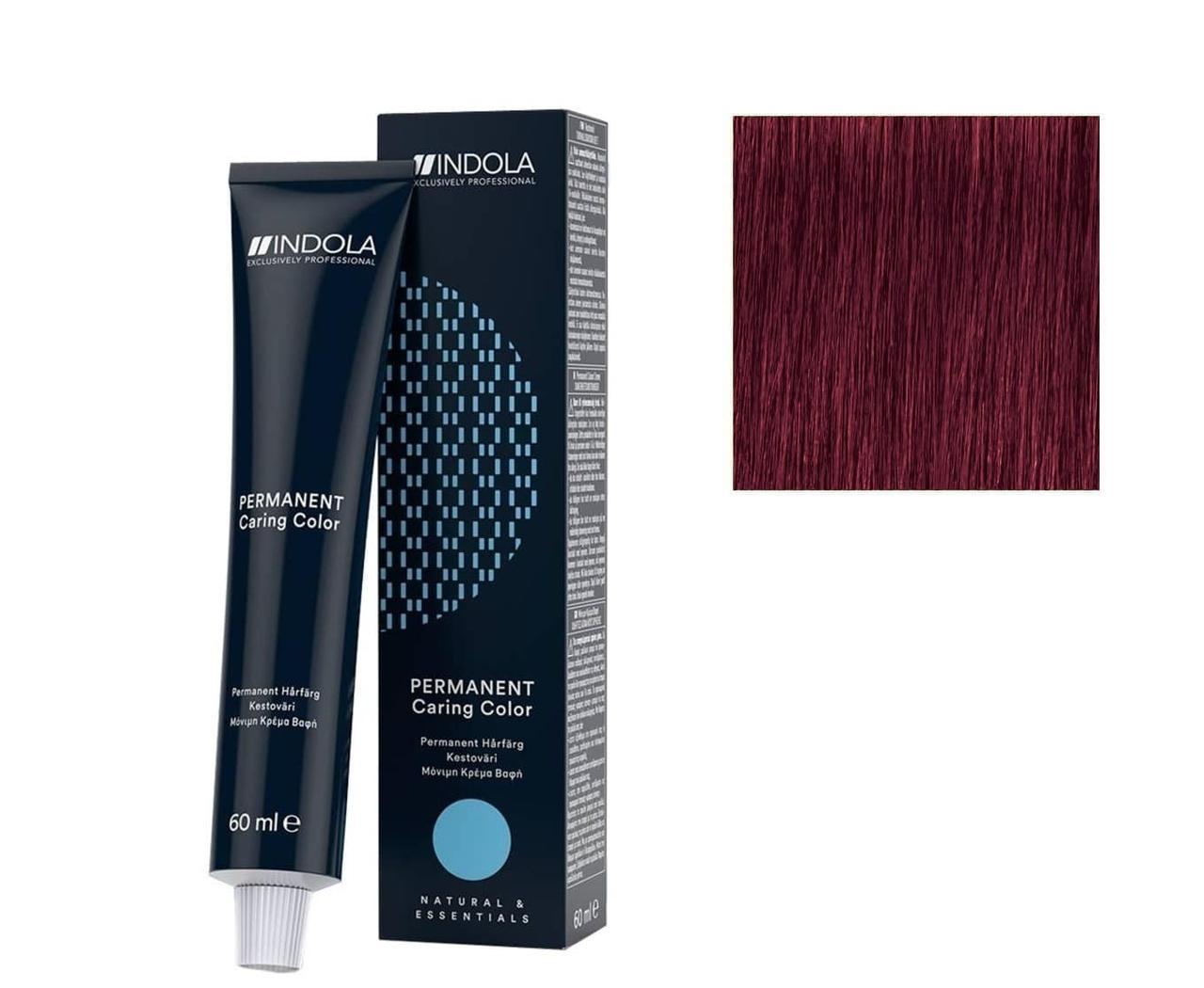 Крем-краска 7.76 Indola PCC Средне-русый фиолетово-красный 60 мл