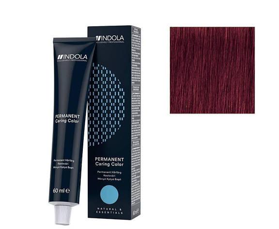 Крем-краска 7.76 Indola PCC Средне-русый фиолетово-красный 60 мл, фото 2