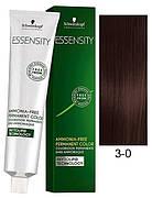 Краска для волос 3-0 Schwarzkopf Essensity Натуральный Темно-Коричневый 60 мл