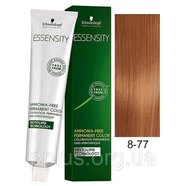 Краска для волос 8-77 Schwarzkopf Essensity Светло-Русый Красный Медный 60 мл