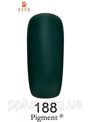 188 F.O.X gel-polish gold Pigment 6 мл, фото 2