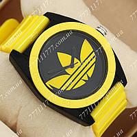 Часы наручные женские Adidas Log 0927 Yelloy\Black