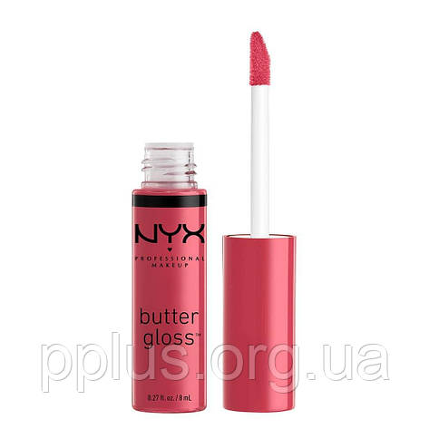 NYX Блеск Butter gloss №32 (strawberry cheesecake) 8 мл, фото 2