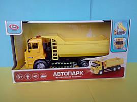 Желтый самосвал Автопарк