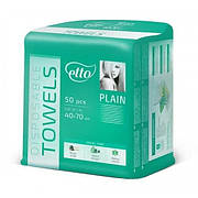 Одноразовые полотенца гладкие Etto 40х70 (50 шт)