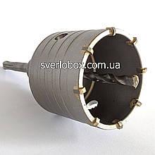 Коронка по бетону для перфоратора 75 мм SDS-plus
