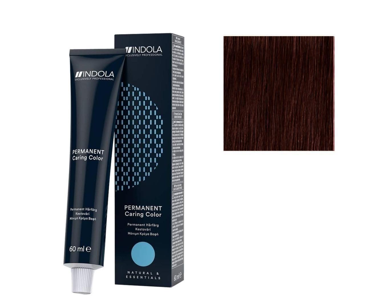 Крем-краска 5.67 Indola PCC Светлый коричневый красный фиолетовый 60 мл