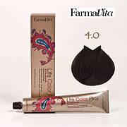 Краска для волос 4.0 Life Color Plus Каштановый 100 мл