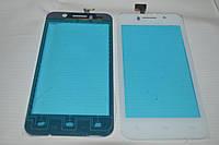 Оригинальный тачскрин / сенсор (сенсорное стекло) для FLY IQ446 (белый цвет) + СКОТЧ В ПОДАРОК