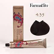 Краска для волос 4.35 Life Color Plus Каштановый шоколадный 100 мл