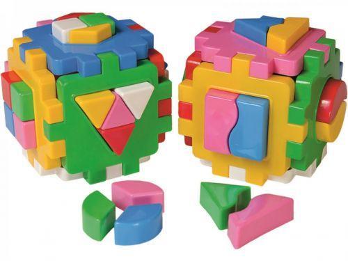 """Куб сортер """"Умный малыш. Логика-комби"""" (2 шт) 2476"""