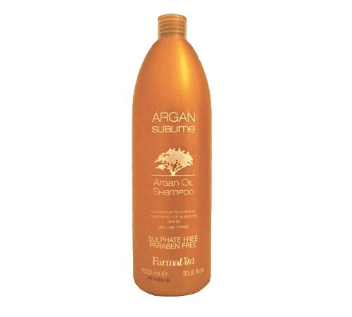 Шампунь с аргановым маслом FarmaVita Argan Sublime Argan Oil Shampoo 1000 мл