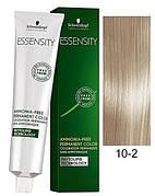 Краска для волос 10-2 Schwarzkopf Essensity Ультра Блондин Пепельный 60 мл