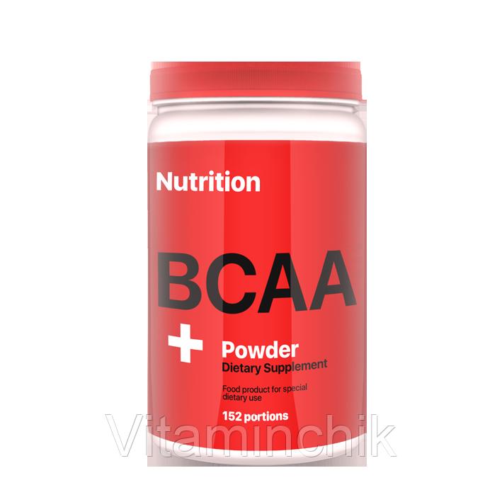 Аминокислота AB PRO BCAA Powder 900 г Яблоко
