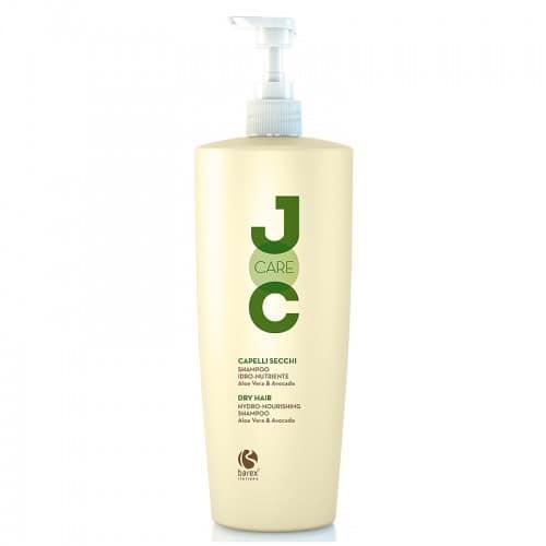 Шампунь для сухих и ослабленных волос с алоэ вера и авокадо Barex Joc Care 1000 мл