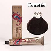 Краска для волос 4.03 Life Color Plus Теплый каштановый 100 мл