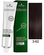 Краска для волос 3-62 Schwarzkopf Essensity Темно-Коричневый Шоколадный Пепельный 60 мл