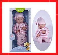 Детский игрушечный реалистичный пупс c дизайнерской одеждой (2 вида) Детский пупсик