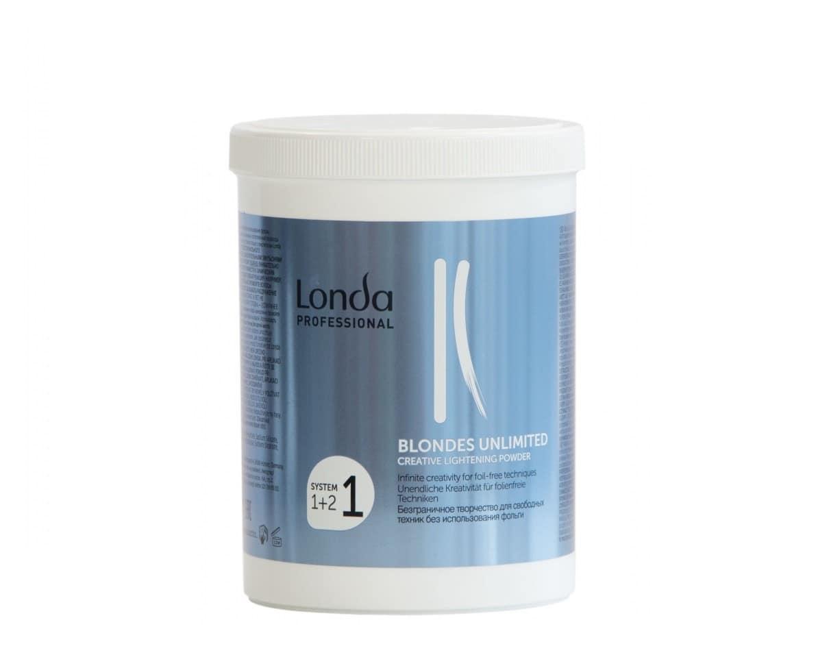 Осветляющая пудра Londa Professional Blondes Unlimited 400 г
