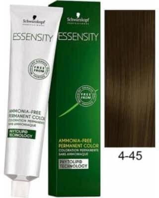 Краска для волос 4-45 Schwarzkopf Essensity Средне-Коричневый Бежевый Золотистый 60 мл, фото 2