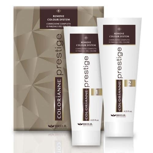 Система удаления цвета с волос Brelil Colorianne Prestige Remove Colour System 2 х 125 мл