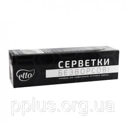 Салфетки безворсовые для маникюра Etto 5х5 (300 шт), фото 2