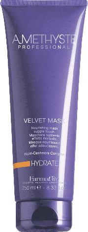 Увлажняющая маска для волос FarmaVita Amethyste Hydrate Mask 250 мл, фото 2
