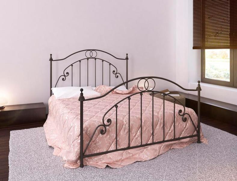 Кровать металлическая кованная Флоренция / Firenze двуспальная, фото 1