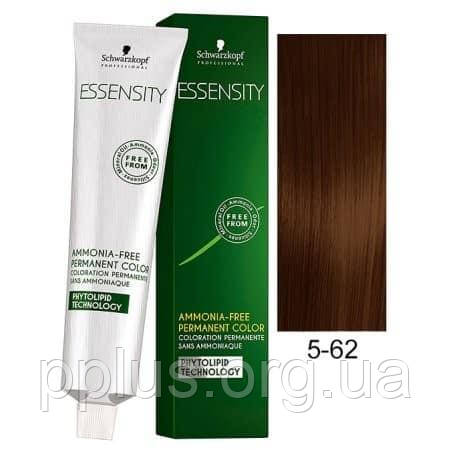 Краска для волос 5-62 Schwarzkopf Essensity Светло-Коричневый Шоколадный Пепельный 60 мл, фото 2