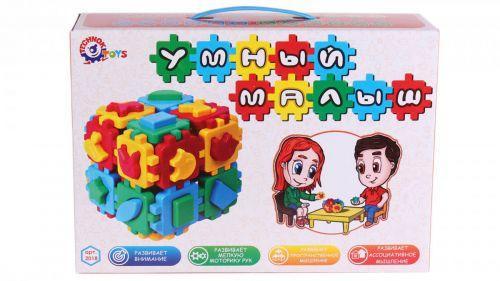 """Игрушка куб """"Умный малыш. Лото ТехноК"""" 2018"""