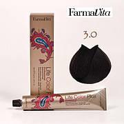 Краска для волос 3.0 Life Color Plus Темно-каштановый 100 мл