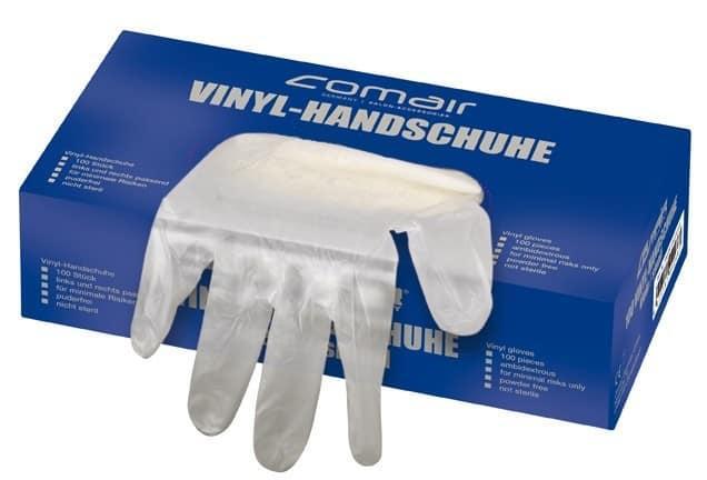 Перчатки XL Comair Salon виниловые большие (100 шт)