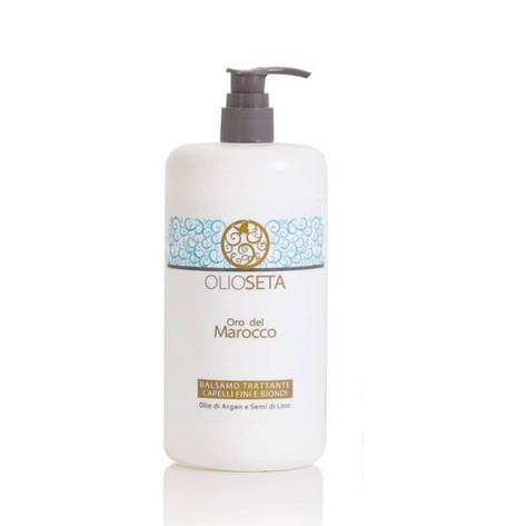 Увлажняющий кондиционер для тонких и светлых волос Barex Olioseta Oro del Marocco 750 мл, фото 2