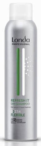 Сухой шампунь Londa Professional Refresh it Dry Shampoo 180 мл, фото 2