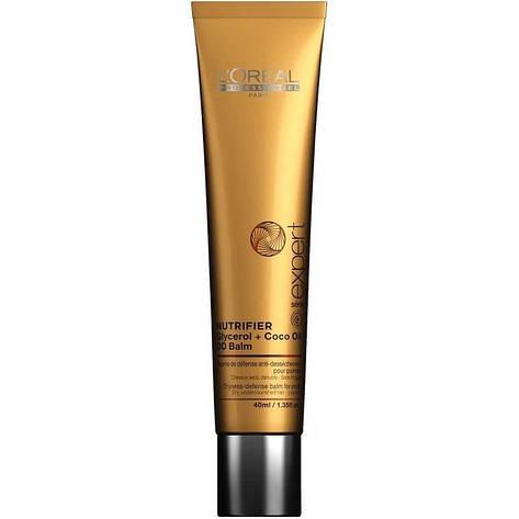 Бальзам для захисту кінчиків волосся LOreal Nutrifier 40 мл, фото 2