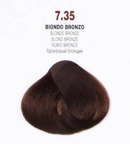 Краска для волос 7.35 Brelil Colorianne Classic бронзовый блондин 100 мл, фото 2