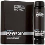 Покрытие седины для мужчин №5 LOreal Homme Cover 5 50 мл