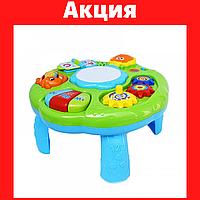 Музыкальный центр Развивающая игрушка для ребенка от 6 мес