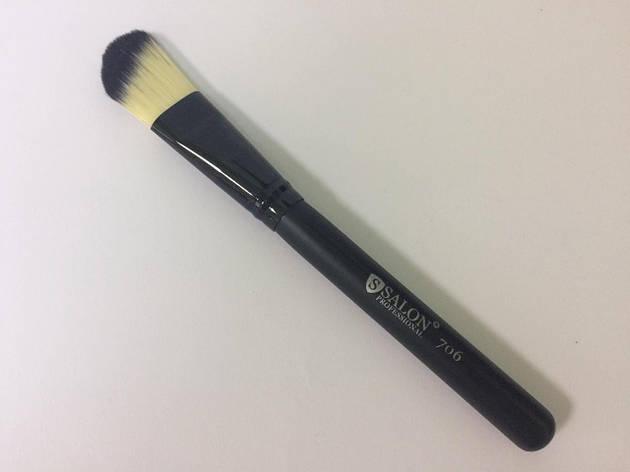 706 Кисть для тонального крема Salon Professional, фото 2