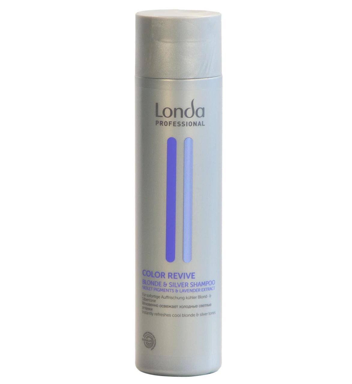 Шампунь для світлих відтінків волосся Londa Professional Color Revive Blond & Silver Shampoo 250 мл