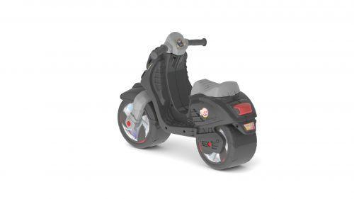 Скутер, черный 502_Ч
