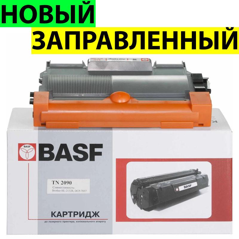 Картридж Brother TN2090, Black, HL-2132, DCP-7057, ресурс 1200 листов, BASF (BASF-KT-TN2090)